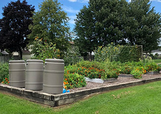 composting and garden