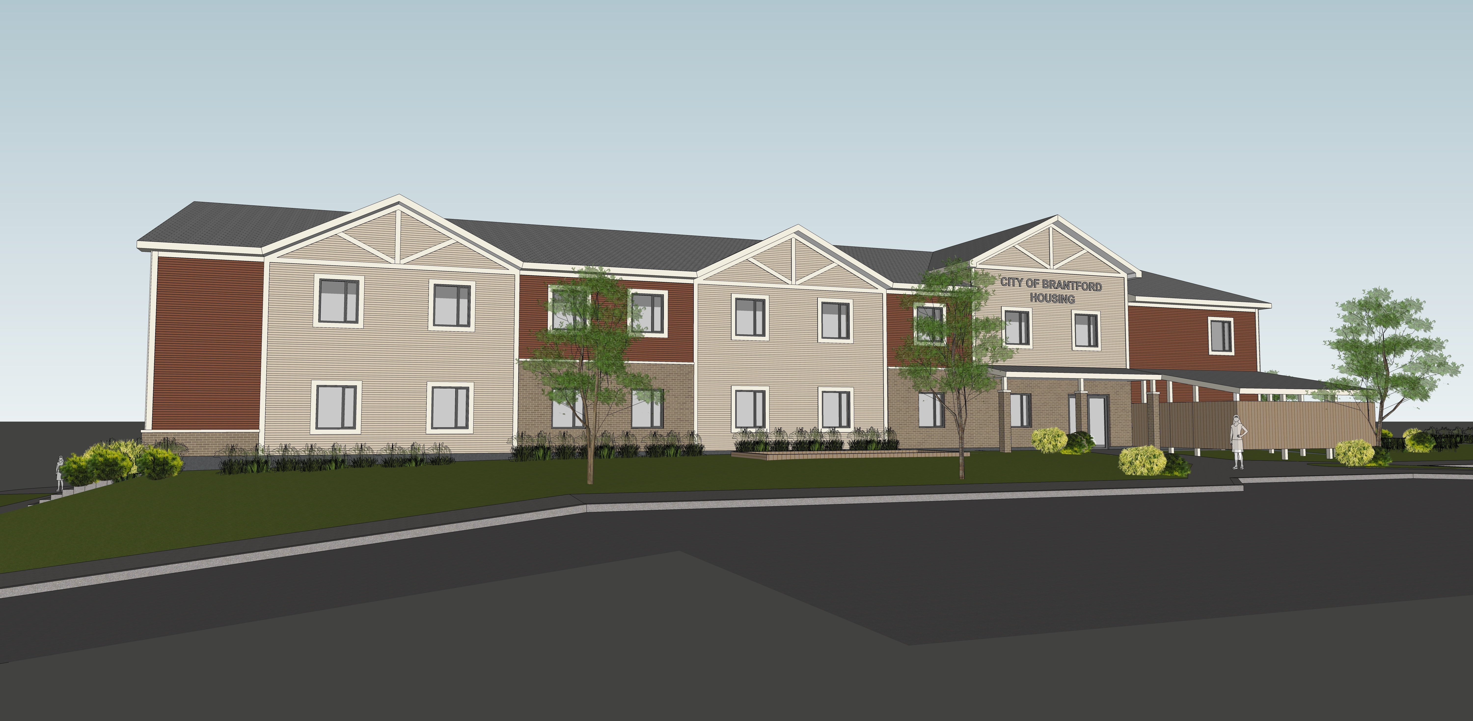 Rendering of Marlene Ave