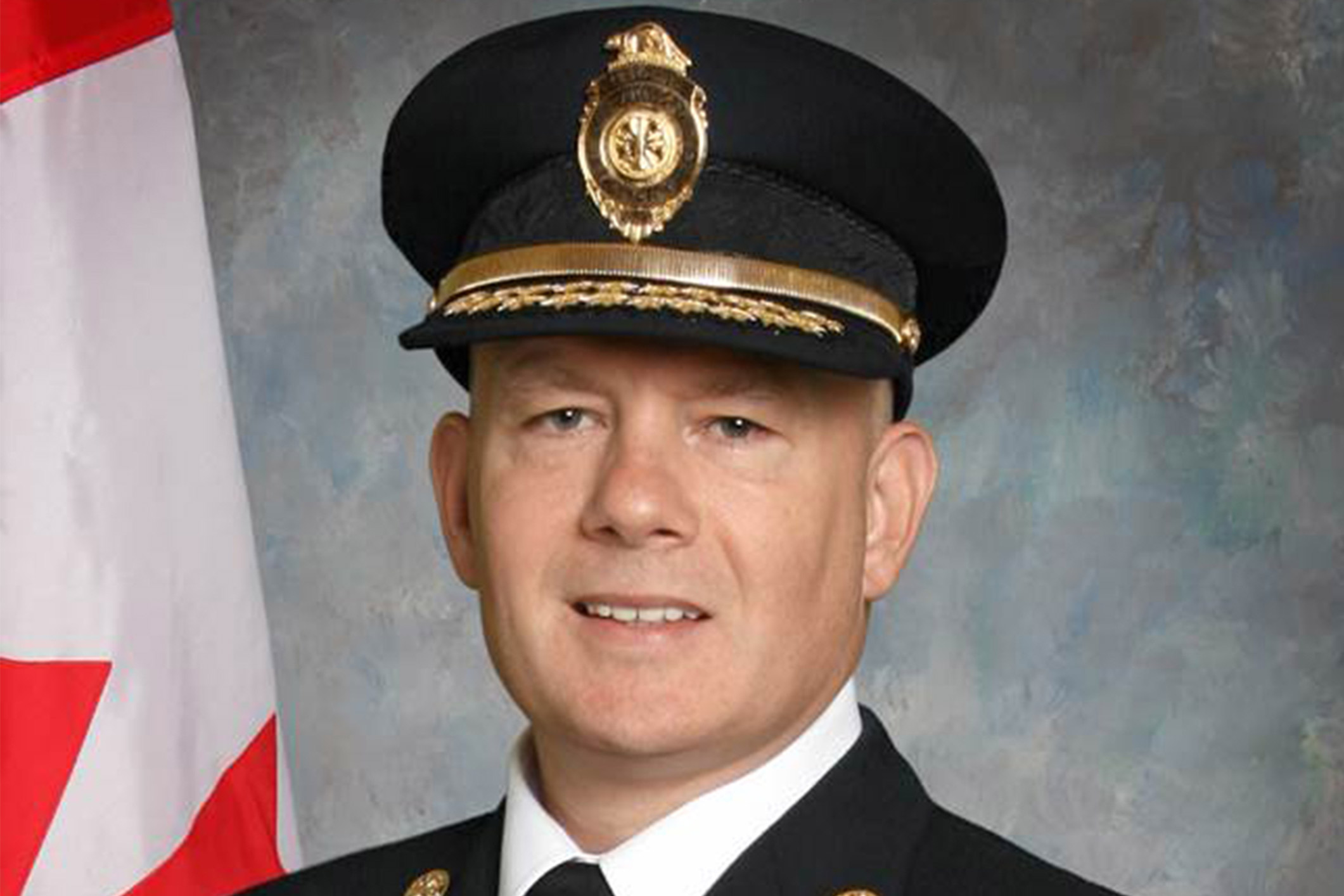 Shane Caskanette Fire Chief