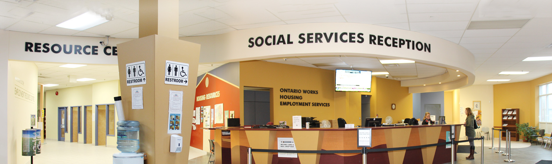 Health and Human Services front desk