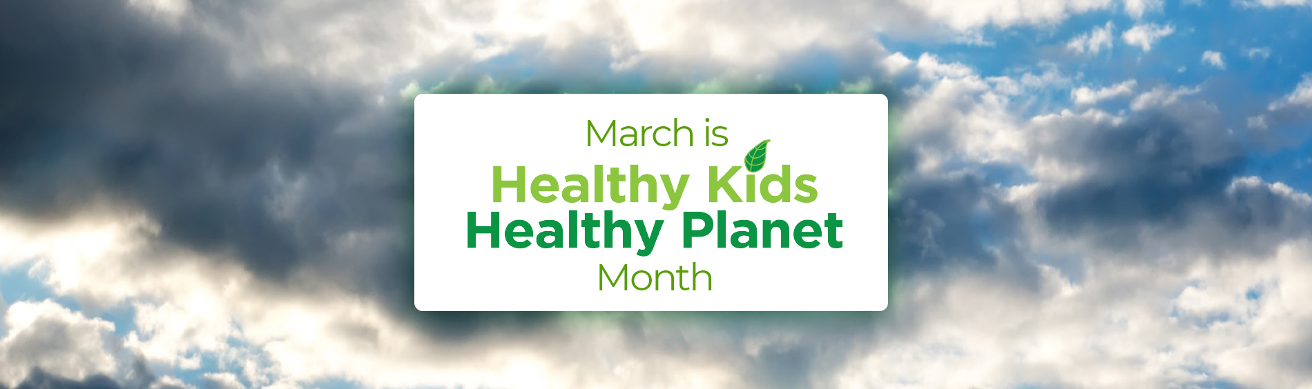 Healthy Kids Healthy Planet logo