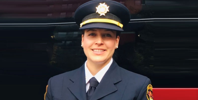 Deputy Fire Chief Anna Everett