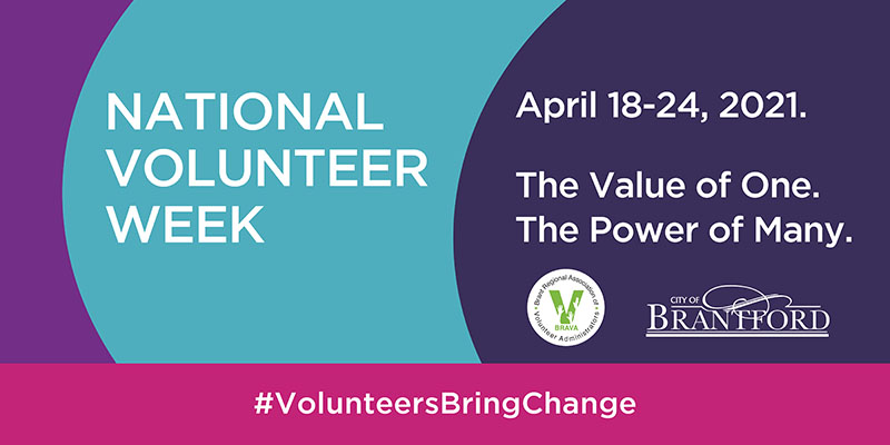 City recognizes contributions of local volunteers during National Volunteer Week