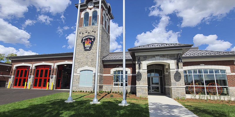 City's new Fire Station No. 2 located at 21 Fairview Drive