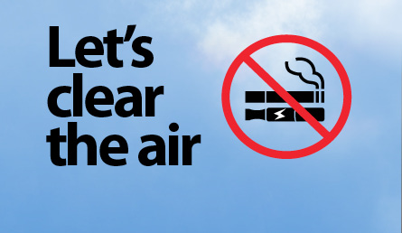 Let's Clear the Air graphic