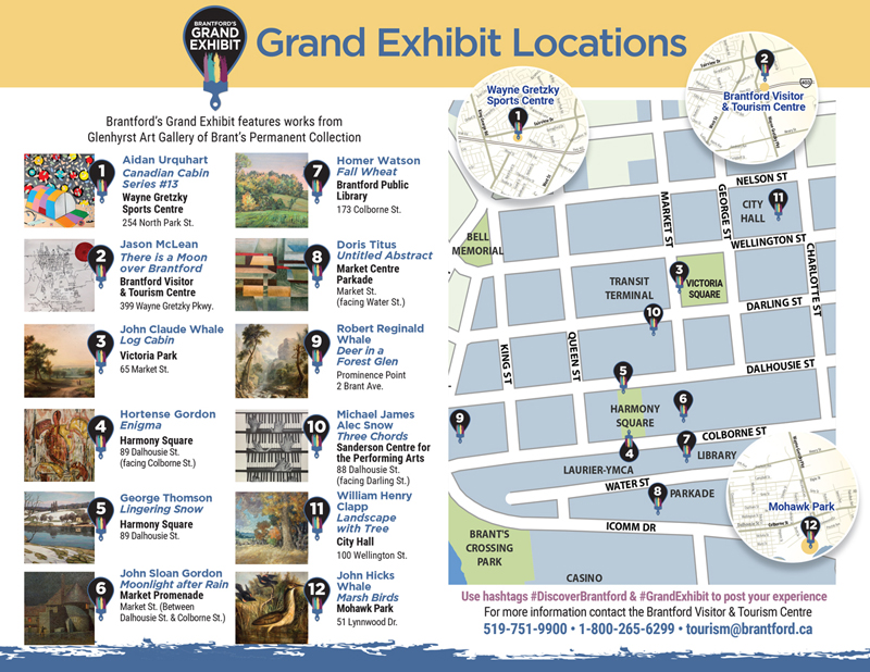 Grand Exhibit Map