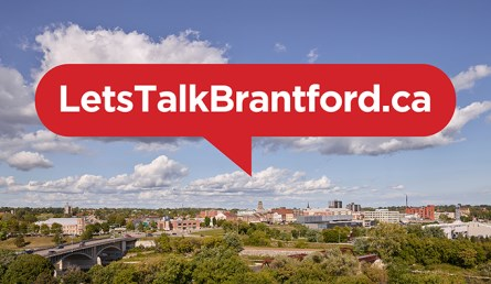 Lets talk branford graphic